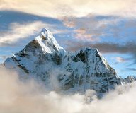 Beautiful view of Ama Dablam Royalty Free Stock Photo