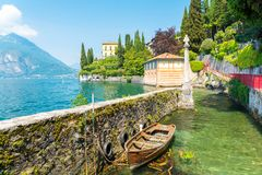 Romantic Lake Como, Lombardy, northern Italy royalty free stock photography