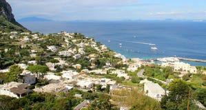 Beautiful view of Anacapri, Campania, Italy. Beautiful view of Anacapri, Capri, Campania, Italy Stock Photos