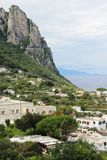 Beautiful view of Anacapri, Campania, Italy Stock Image