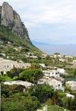 Beautiful view of Anacapri, Campania, Italy. Beautiful view of Anacapri, Capri, Campania, Italy Royalty Free Stock Photos