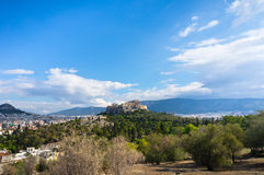 Ancient Acropolis, Athens, Greece Stock Images