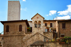 Beautiful view of the ancient city of Perugia Royalty Free Stock Photography