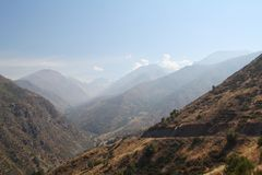 Andes mountains Stock Images