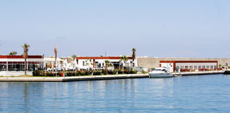 Beautiful view of Antalia harbor Stock Images