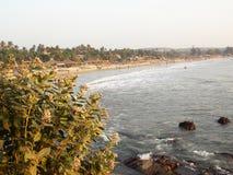 Beautiful view, Arambol, Goa stock photo