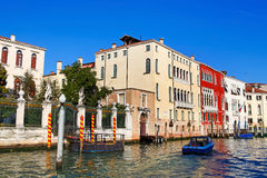 Beautiful view of architecture in Venice Royalty Free Stock Images