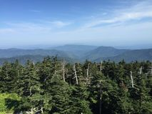 Great Smokey Mountains Stock Photography