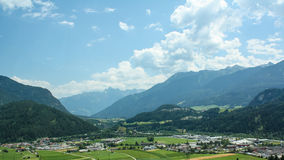 Beautiful view of the Austrian Alps Royalty Free Stock Photography