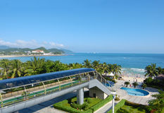 Beautiful view in bay Dadunhai. China, Hainan Stock Photo