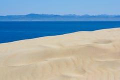 Beautiful view on beach and ocean, Spain, Tarifa Royalty Free Stock Photos