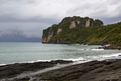 Beautiful view of a beach, Phi Phi Stock Photography