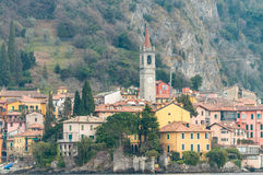 Beautiful view of Bellagio from Como lake, Italy Stock Images
