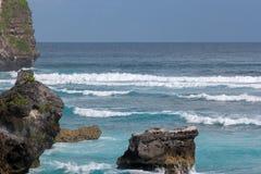 Beautiful view of blue ocean. Royalty Free Stock Image