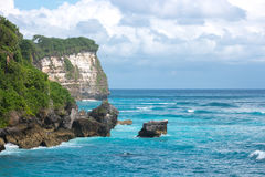 Beautiful view of blue ocean. Stock Image
