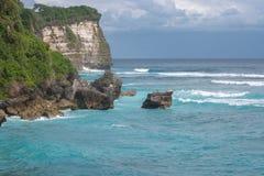 Beautiful view of blue ocean. Stock Photos