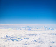 Beautiful view of the blue sky Stock Images