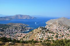 Beautiful view from Bodrum Stock Photo