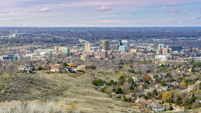 Beautiful view of Boise Idaho Royalty Free Stock Photos