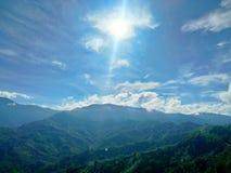 Kinabalu Mount, Sabah, Malaysia. stock photography
