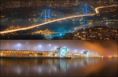 Beautiful view of Bosphorus and cityscape Istanbul Stock Image
