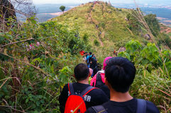 Beautiful view at broga hill, malaysia Stock Images