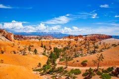 Beautiful view at Bryce Canyon royalty free stock photography