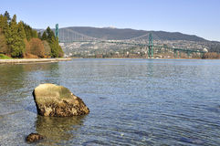 Beautiful view of Burrard Inlet Stock Photography