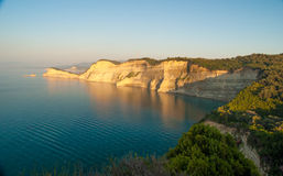 Beautiful view of Canal d'amour from Cape Drastis. Sidari, Corfu Stock Image