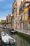 Beautiful view of a canal in Venice Stock Photography