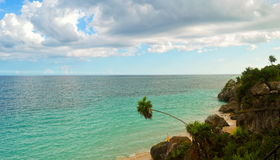 Beautiful view in Cancun Royalty Free Stock Photos