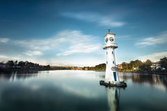Beautiful view of cardiff bay Royalty Free Stock Image