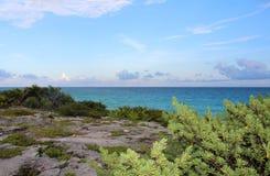 Beautiful view on Caribbean sea Stock Photography