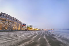 Beautiful view of the Castle in Larnaka, Cyprus Royalty Free Stock Images
