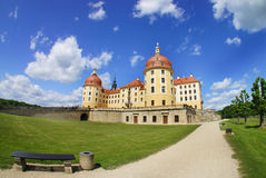 Beautiful view of castle Moritzburg, Germany Royalty Free Stock Photography