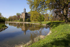 Beautiful view of Castle Rullingen, Belgium Stock Images