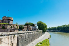 Beautiful view with castle st. Angelo. Stock Photography