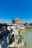 Beautiful view with castle st. Angelo Royalty Free Stock Image