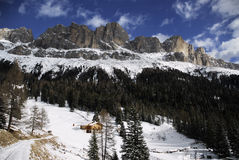 Beautiful view of Catinaccio Group in Dolomites, Stock Photos