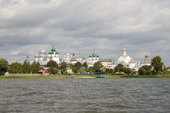 Beautiful view on church, Rostov Veliky, Russia Royalty Free Stock Photography