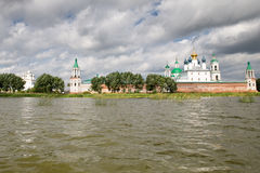 Beautiful view on church, Rostov Veliky, Russia Stock Photo