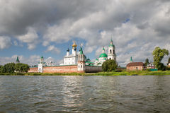 Beautiful view on church, Rostov Veliky, Russia Royalty Free Stock Photos