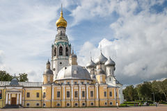 Beautiful view on church, Rostov Veliky, Russia Royalty Free Stock Images