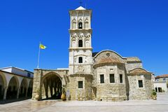 Church of Saint Lazarus, Larnaca, Cyprus. stock images