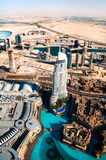Beautiful view of the city of Dubai Stock Photo