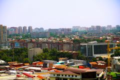 view of the city of Krasnodar royalty free stock photography