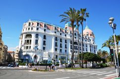 A beautiful view of the city of Nice in France Stock Photography