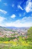 Beautiful view of the city of Sarajevo, Bosnia and Herzegovina Stock Photography