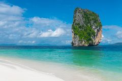 Beautiful view of the cliffs and the sea from the island of Poda. Nature reserve, Thailand Royalty Free Stock Photos