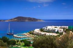 Beautiful view of the coastline Stock Image